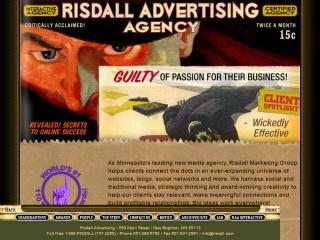 Risdall Marketing Group screen shot